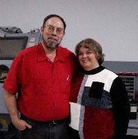 Tom and Terri - Owners and Partners of Snyder Fabrication LLC Image